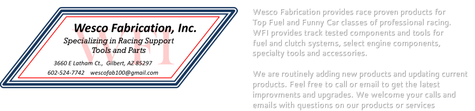 Wesco Fabrication, Inc.     602-524-7742